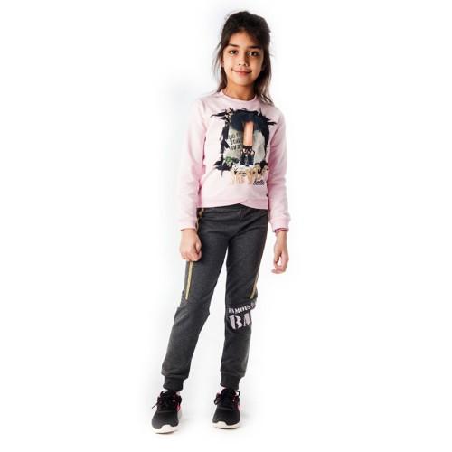 Σετ φόρμα City Ballet Joyce 88414 - ροζ Παιδικά