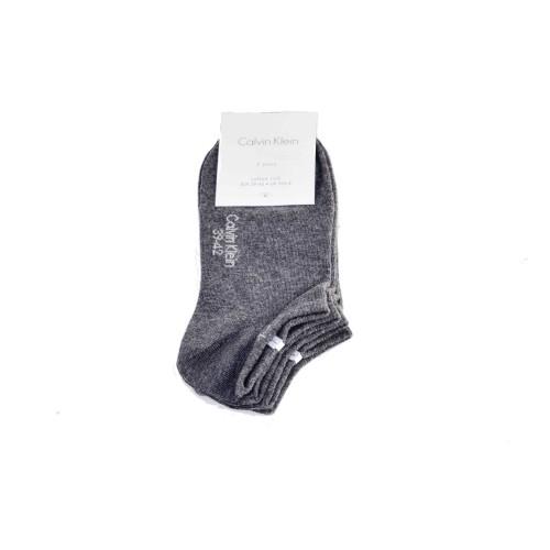 Κάλτσες κοντές 2 τεμάχια Calvin klein ECP250G - γκρι Ανδρικά
