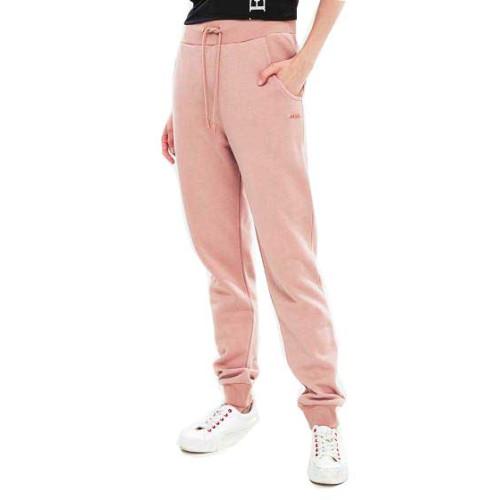Παντελόνι φούτερ ψηλόμεσο Guess O84Q04GL01H - millenium pink Γυναικεία