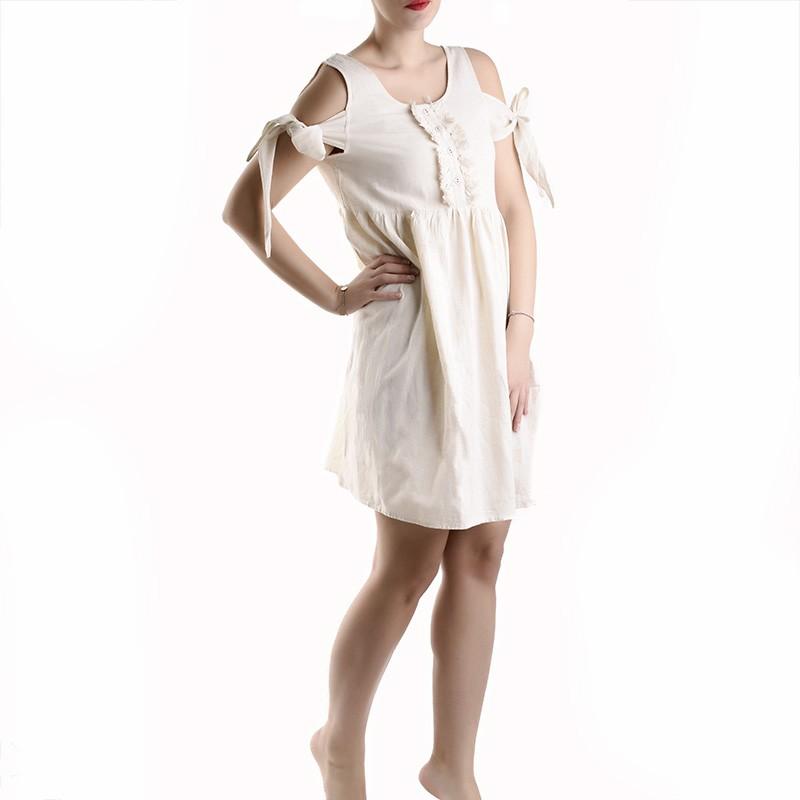 Φόρεμα Ble 5-41-789-0005 - μπεζ