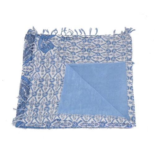 Πετσέτα 2 όψεων Iconique IC7-066 - γαλάζιο Γυναικεία