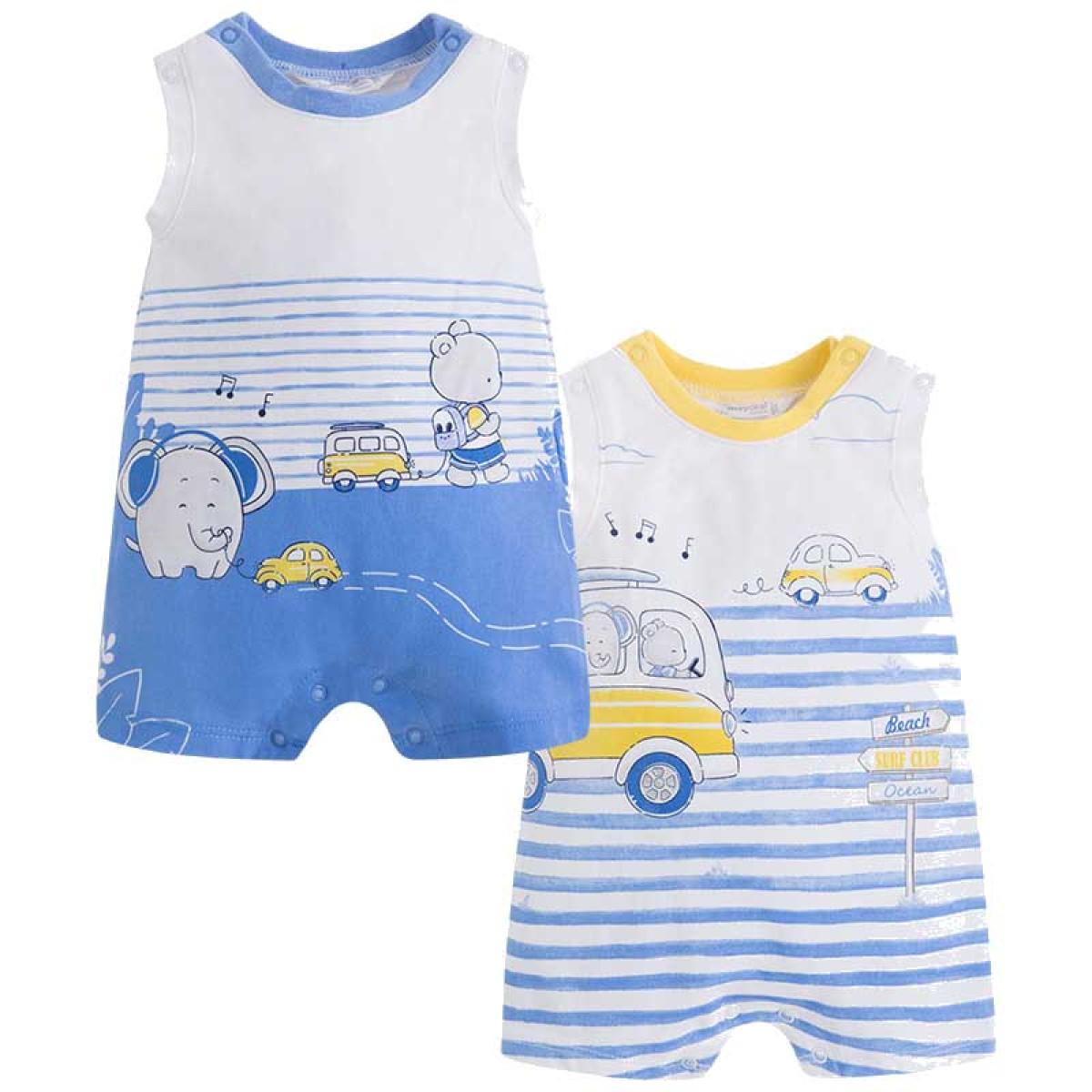 5032ce1e9c2 Σετ 2 φορμακια μακο πουκαμισο Mayoral 2801660 - μπλε