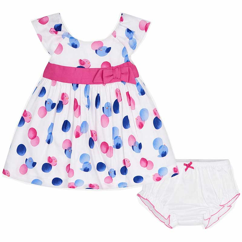 Φορεμα σταμπωτο Mayoral 29-01836 - ματζεντα Παιδικά