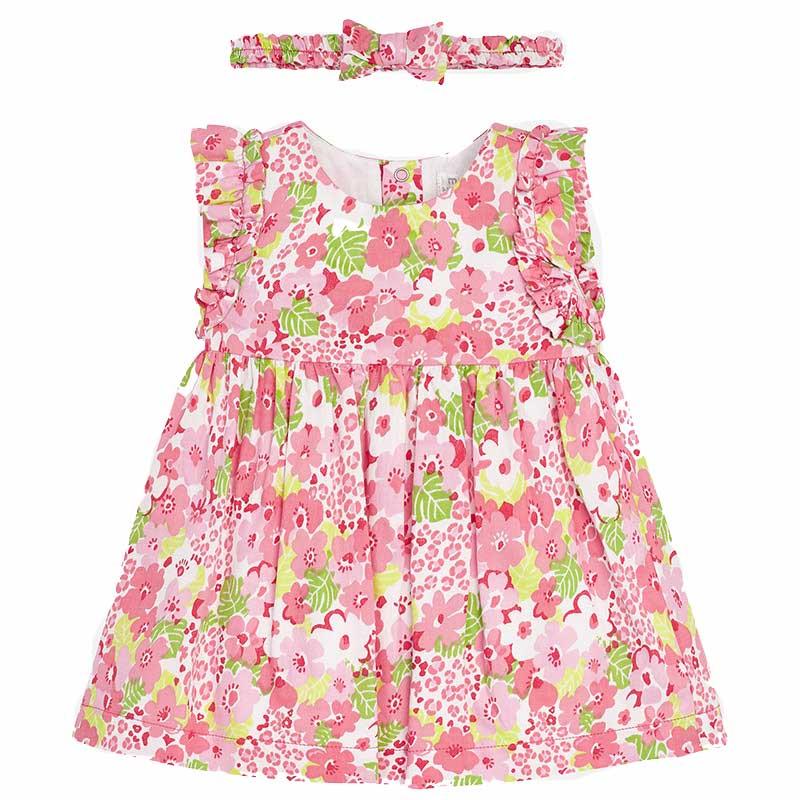 Φορεμα σταμπωτο Mayoral 29-01839 - φλαμινγκο Παιδικά