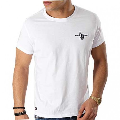 T-shirt Sunwear Basic U.S. Polo Assn. 51587-50313 - λευκό