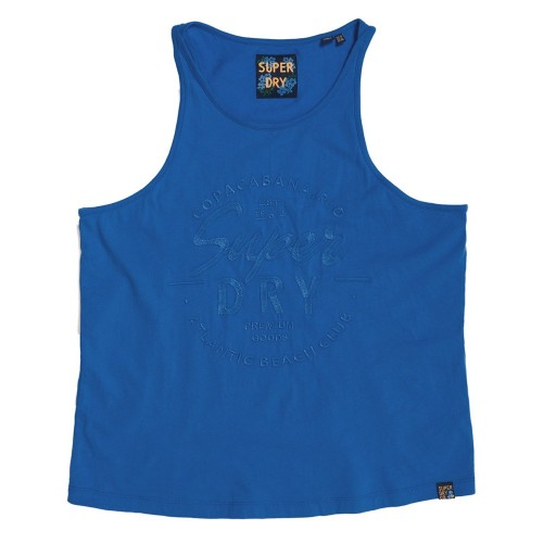 Vest Theia Graphic Superdry G60145ST - μπλε Γυναικεία