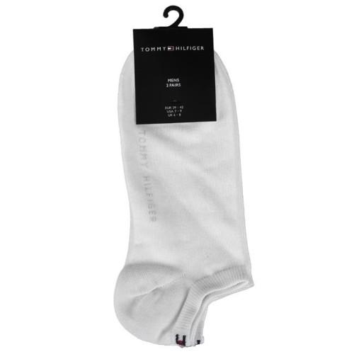 Κάλτσες κοντές 2 τεμάχια Tommy Hilfiger 342023001 - λευκό Ανδρικά