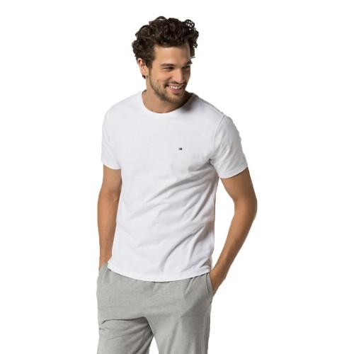 T-shirt με κοντό μανίκι Tommy Hilfiger 2S87904671 - λευκό Ανδρικά