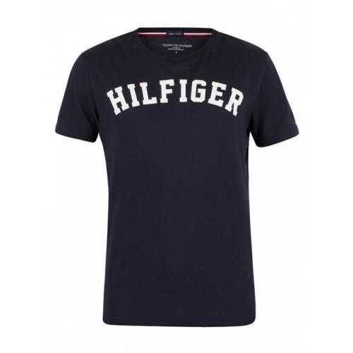T-shirt logo Tommy Hilfiger 4500131711 - μπλέ Ανδρικά