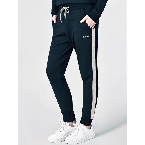 Παντελόνι φούτερ Guess O84Q13FL01I - μαύρο Γυναικεία